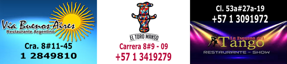 Restaurantes argentinos en Bogota