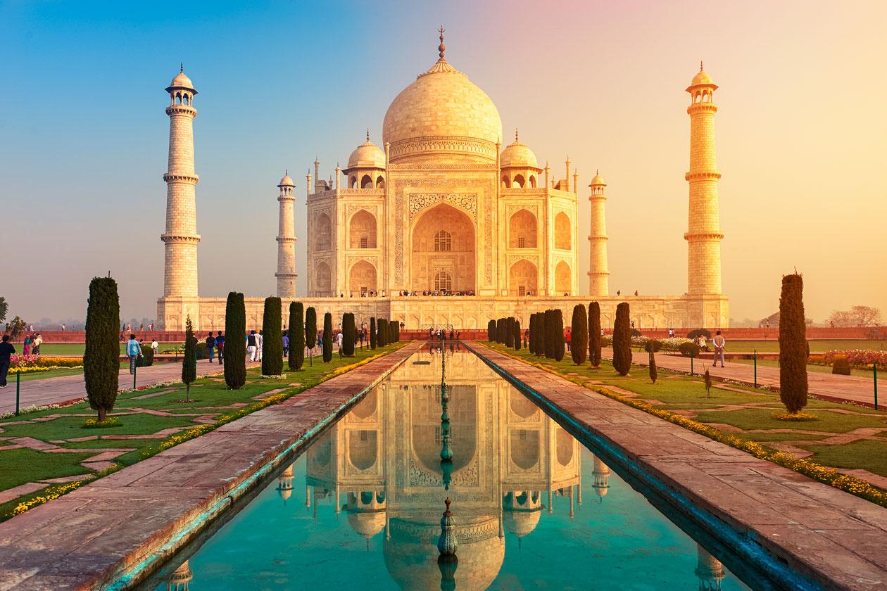 Como es el Taj Mahal