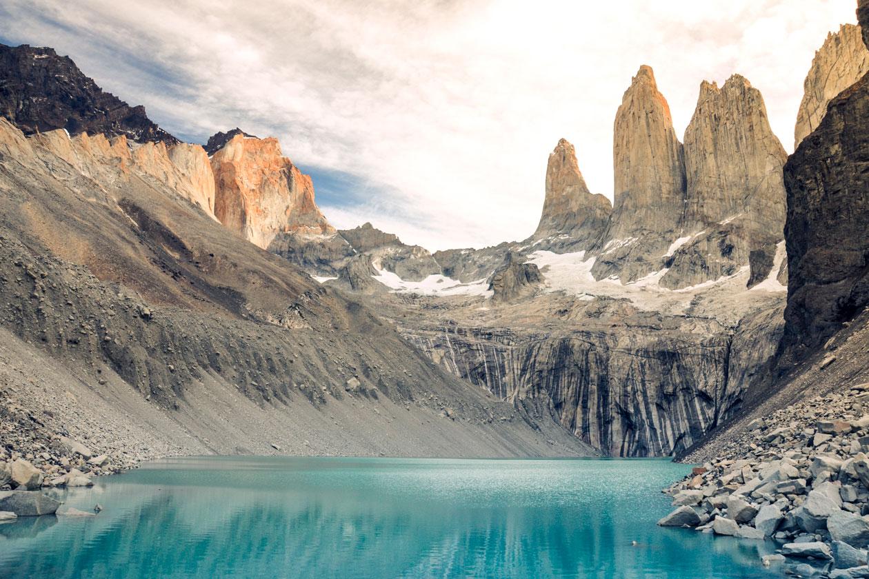 Como son las Torres del Paine en Chile