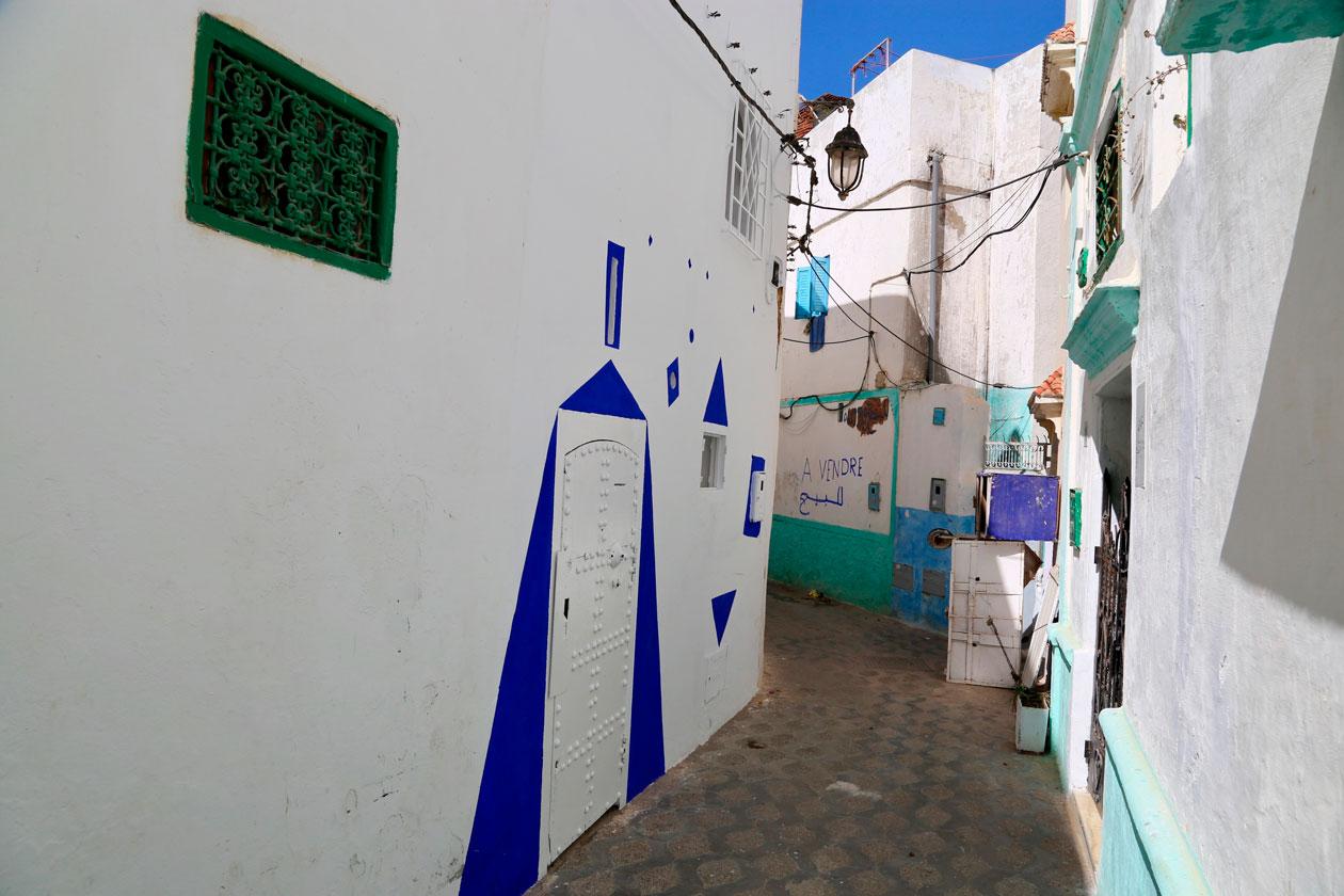 Las calles de Asilah